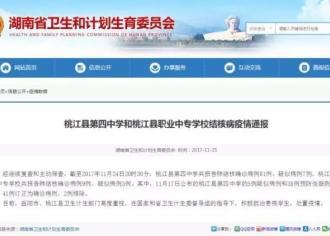 最新通报:湖南桃江县两所学校肺结核病确诊病例达90例