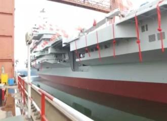 记者近距离探访首艘国产航母 研制总指挥披露最新进展